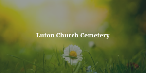 Luton Church Cemetery logo